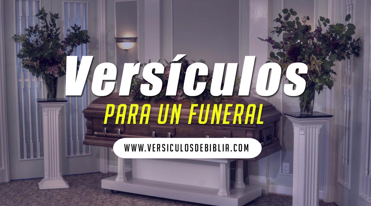 versiculos para funeral