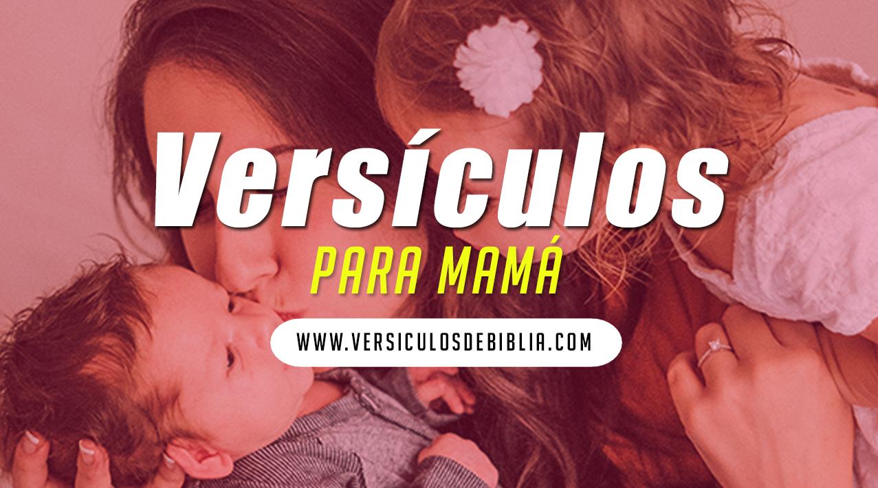 versiculos para madres