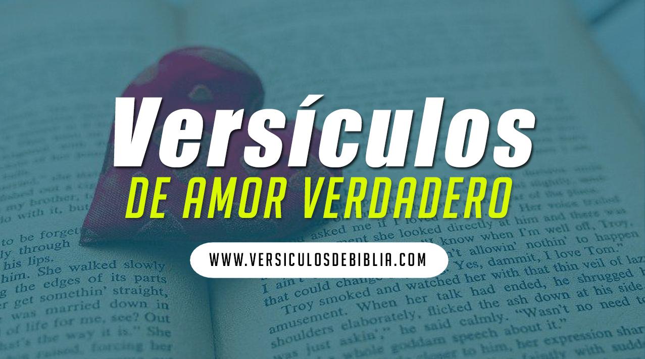 Versículos de la biblia de amor