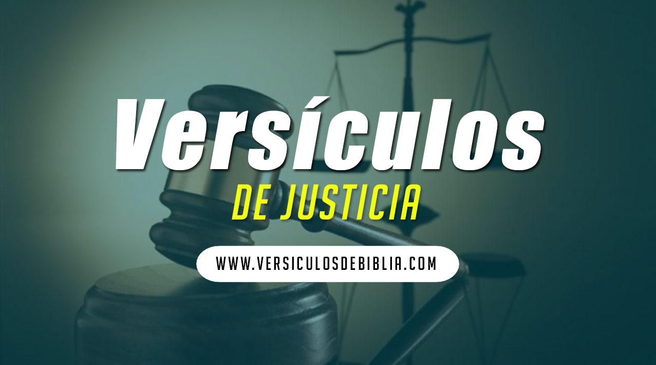 versicuos de la justicia de Dios