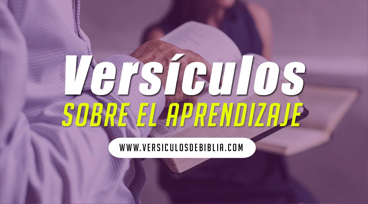 versiculos biblicos del aprendizaje