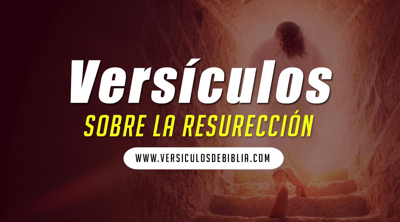 versiculos de resurección de Cristo