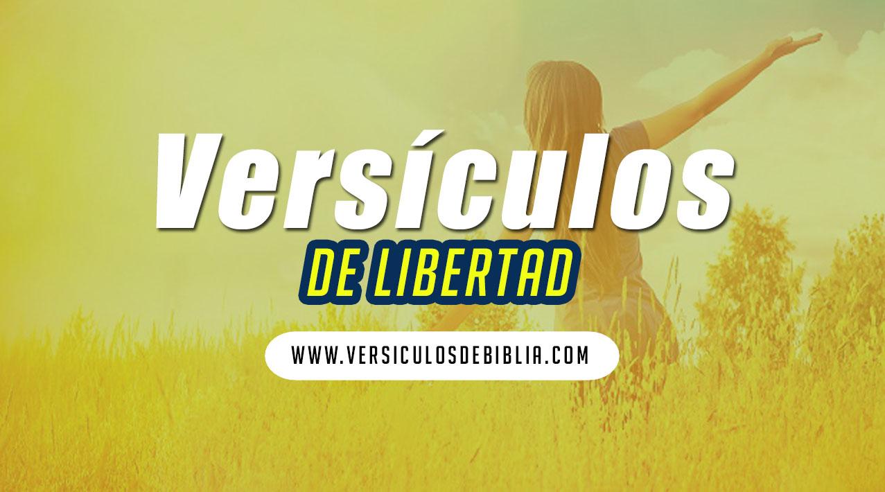 versiculos de libertad en Cristo