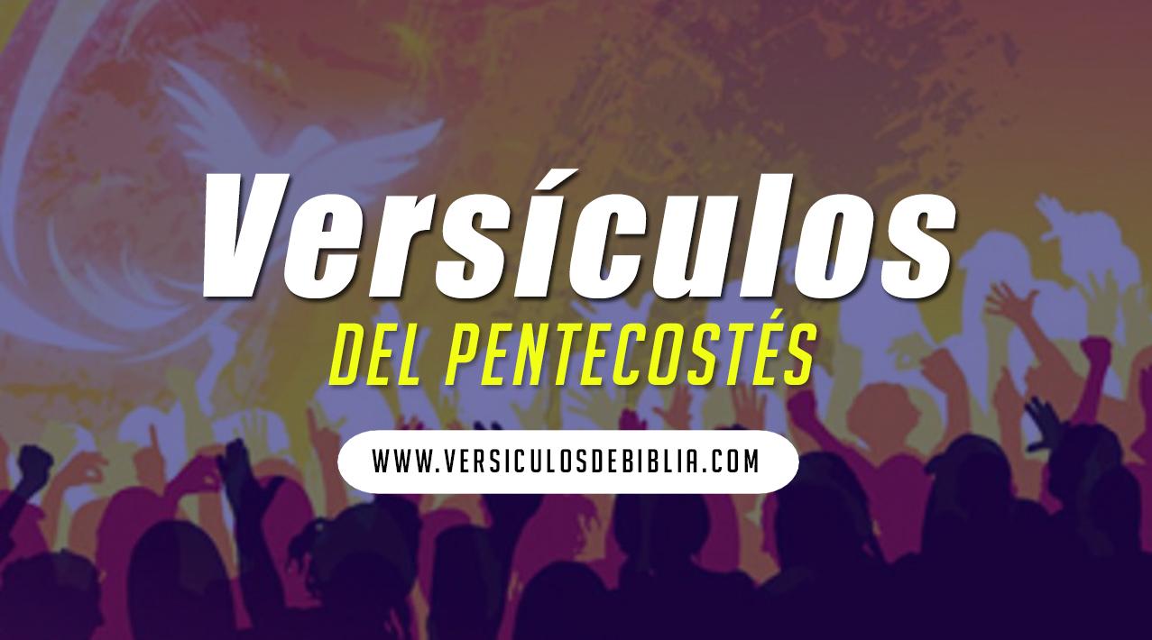 versiculos del día del pentecostés