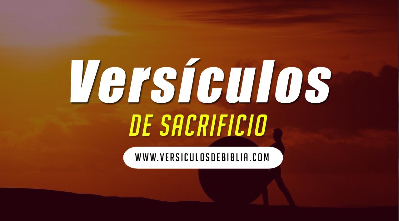 versiculos sobre el sacrifico de Cristo