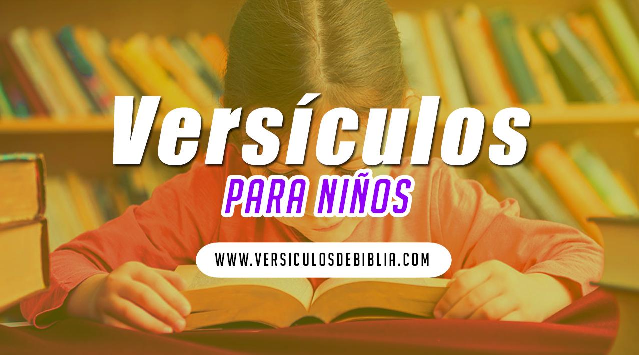 versículos para los niños