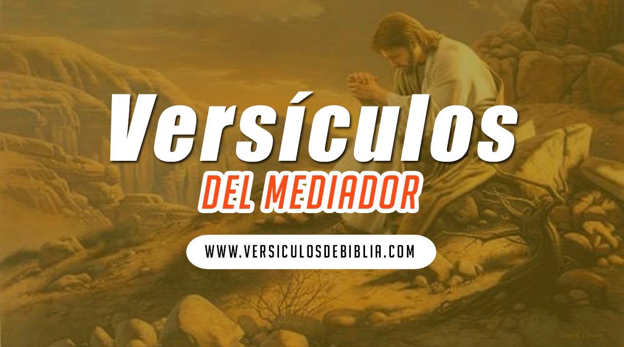 versiculos de Mediador entre Dios y nosotros