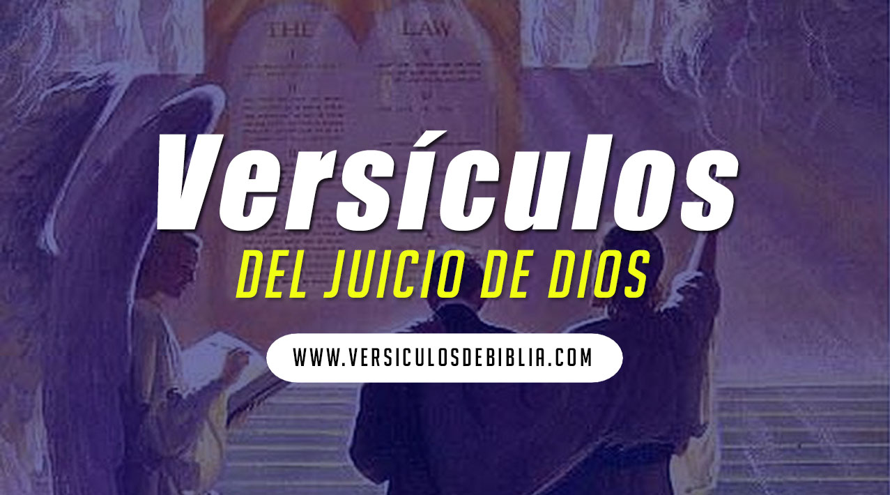 juicio de Cristo versículos
